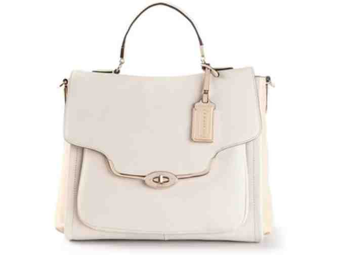 Coach Designer Bag - Sadie Style in Bone