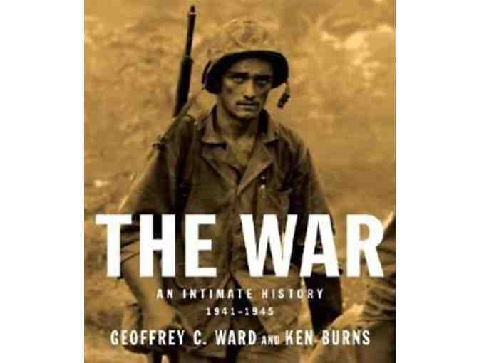 KEN BURNS TRIO - The War: An Intimate History; The West; Baseball - SIGNED BY KEN BURNS!!