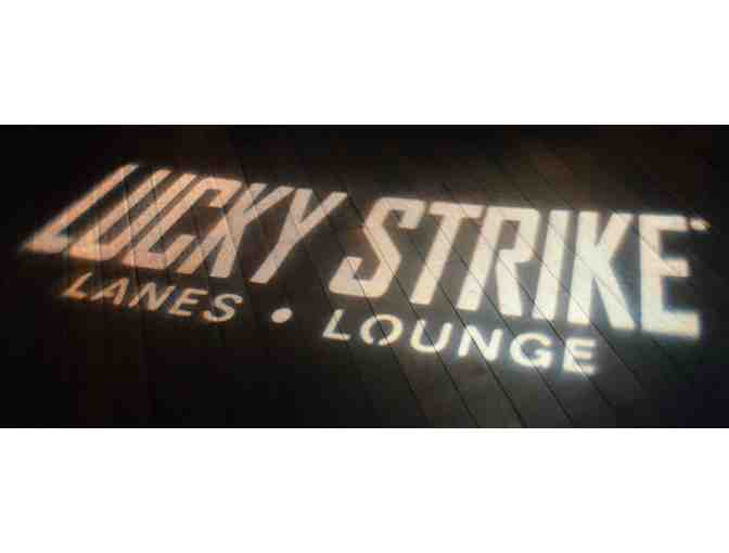 Bowling Party at Lucky Strike!
