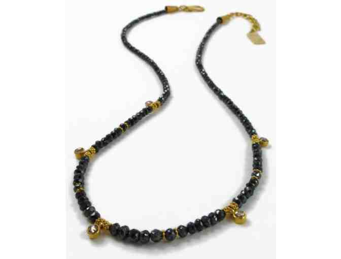 Stunning Gold & Diamond Necklace by Enamorata