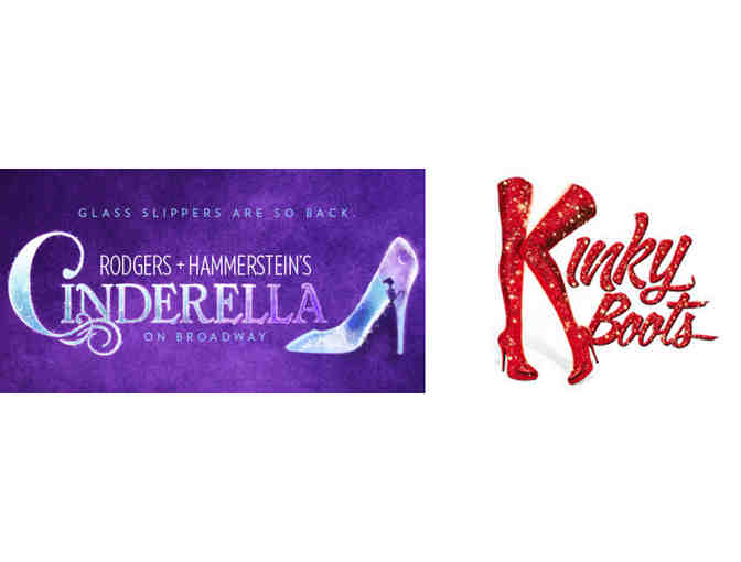 Broadway's Looking Grand: Tickets to Kinky Boots & R+H's Cinderella!