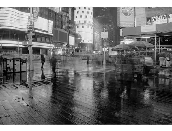'Times Square in the Rain', Stunning Photograph by SAY Alum Phil Garber!