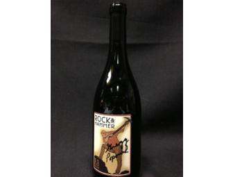 Autographed Rock & Hammer Wine