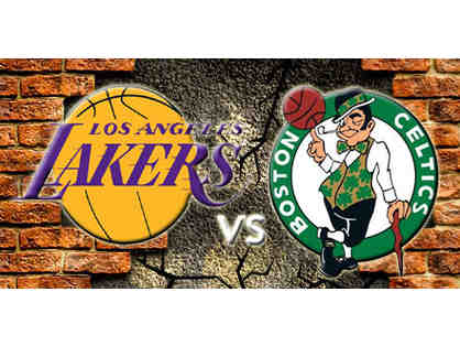 Center Court - Lakers vs Celtics April 3rd