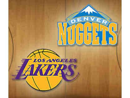 Two Tickets - Lakers vs. Nuggets on March 25th