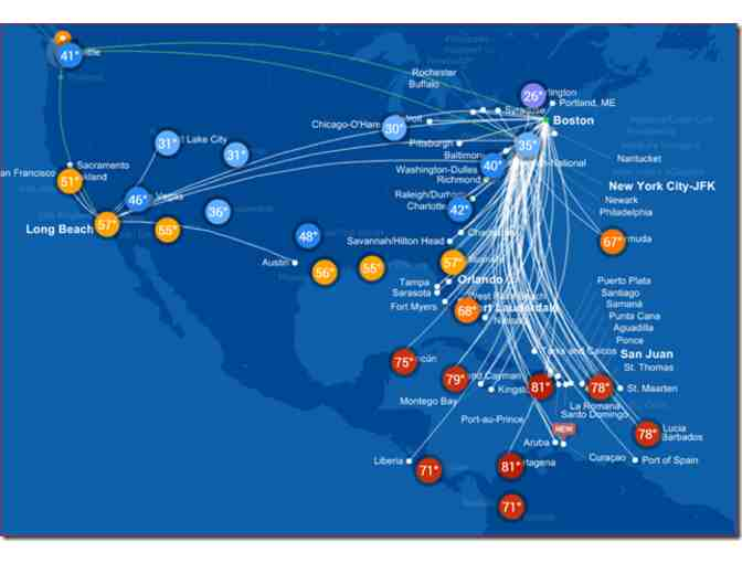 2 Round Trip Air Tickets on JetBlue!! - Photo 2