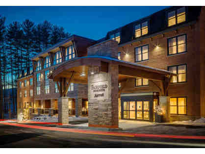 2 Night Stay - Fairfield Inn & Suites (Stowe, VT) w/breakfast & $50 GC to Hen of the Wood