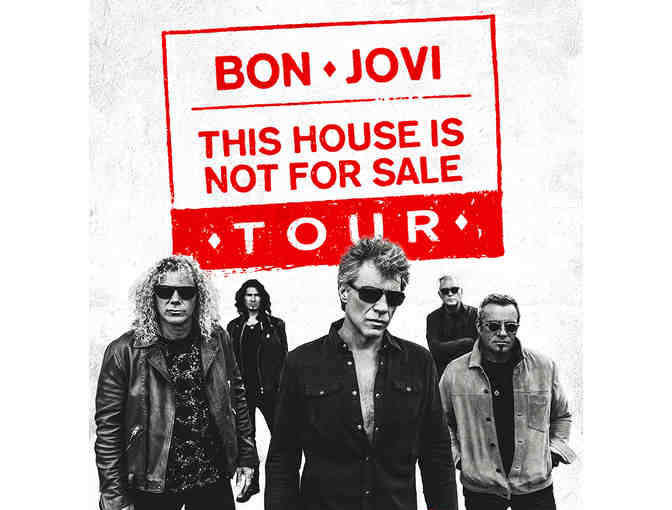 2 Bon Jovi Tickets - This House Is Not For Sale Tour April 7, 2018 - Photo 2