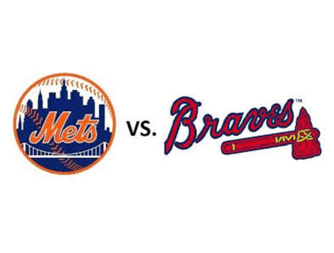 4 Amazing Seats (9th row- Delta Silver) NY Mets vs. Atlanta Braves - Wednesday 5/2/18 - Photo 3