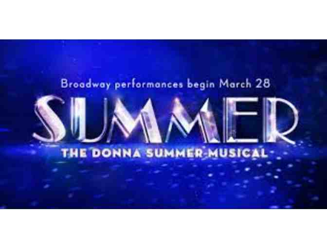"2 Tickets to  ""Summer"" The Donna Summer Musical on Broadway - Photo 2"