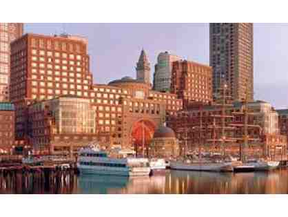 2 Night Stay at the Boston Harbor Hotel
