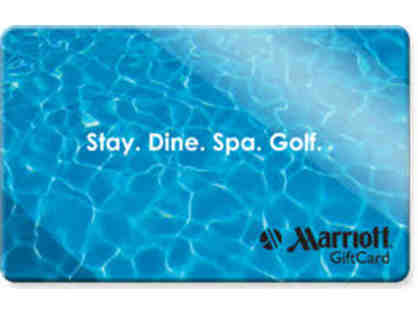 $350 Marriott Gift Card