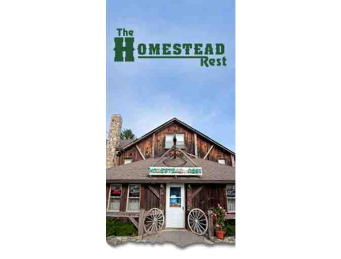 $100 Homestead Restaurant Gift Certificate and- 2 AMC Movie Passes - Photo 1