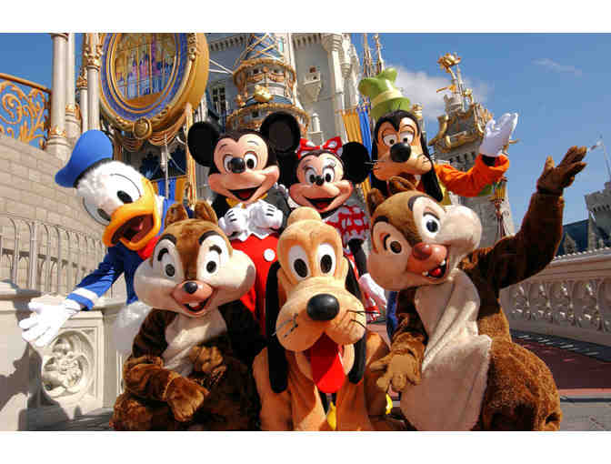 4 One Day Disney World Park Hopper Passes