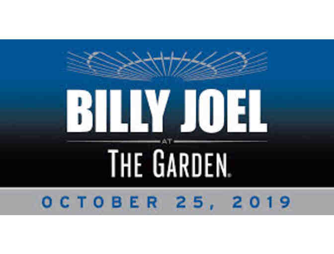 2 Tickets to Billy Joel at MSG - Friday, October 25, 2019 - SOLD OUT Show! - Photo 1
