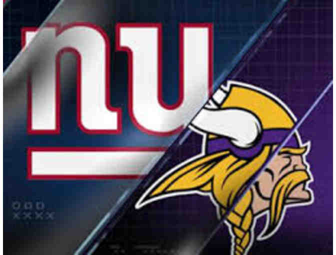 2 Tickets to NY Giants Game VS Minnesota Vikings  - Sunday 10/6/19 at 1 PM - Photo 1