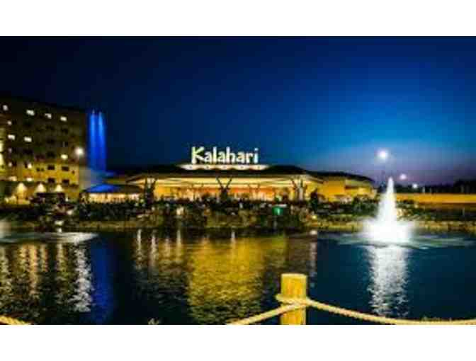 1 Night Stay at Kalahari Resort - Includes 4 Waterpark Passes - Photo 1