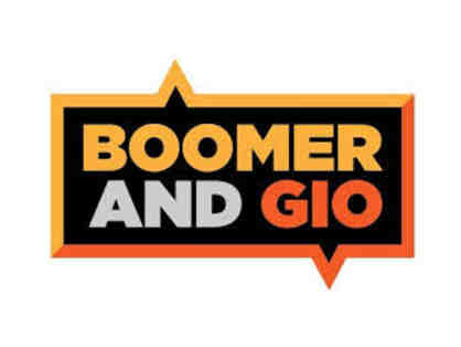 Attend a Live Broadcast of Boomer & Gio - WFAN 's morning show.....