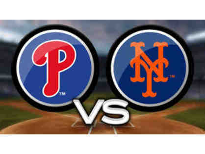 4 Diamond Club Seats to Mets vs. Phillies (In Philadelphia)  on May 26th a 7:05pm