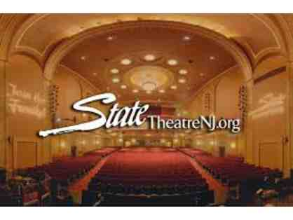 2 Tickets to a State Theater New Jersey & $25 Gift Certificate to CLYDZ