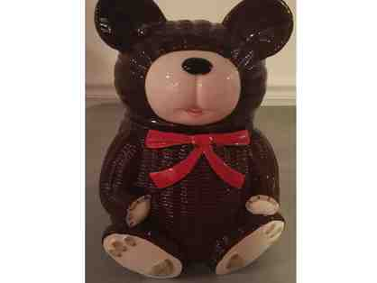 Vintage Brown Bear Cookie Jar