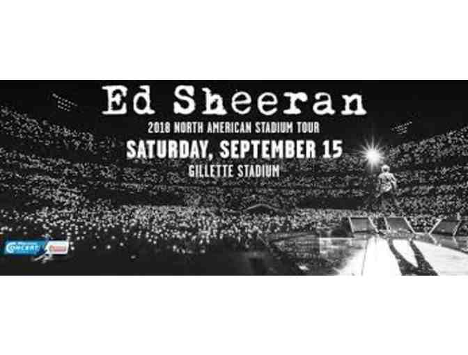 4 Tickets for an ED SHEERAN Concert @ Gilette Stadium *Sepember 15, 2018 - Photo 1
