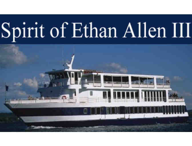 2 tickets for a Narrated Scenic Cruise aboard the Spirit of Ethan Allen III - Photo 1