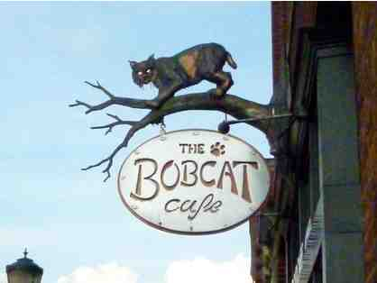 $25 Gift Certificate to the Bobcat Cafe in Bristol, VT *Fine Local Dining + Brewery