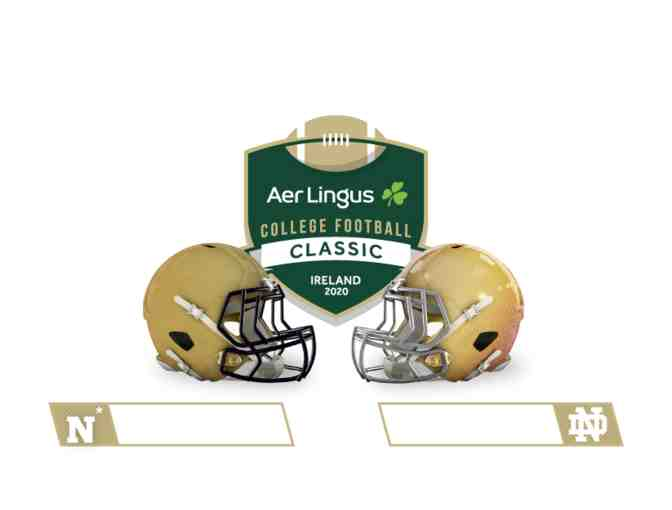 Raffle Ticket  6 Day Dublin Emerald Isle Tour for 2 & Notre Dame v. Navy Football Tickets - Photo 1