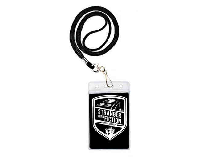 (1) Stranger Than Fiction VIP Pass - Photo 1