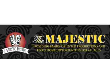 Two Tickets to a 2020 Non-Dinner Majestic Theatre Performance