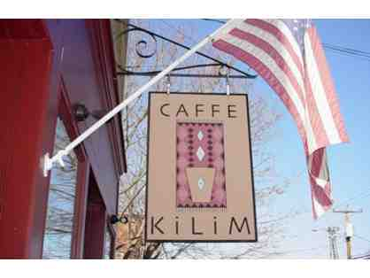 $50 Gift Certificate to Caffe Kilim