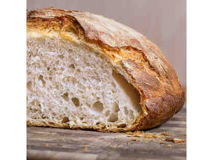 A Loaf of Homemade Bread by Brian Kelly