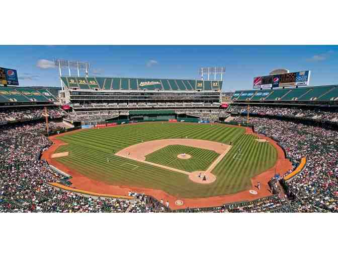 Two (2) tickets to an Oakland Athletic Baseball Game in 2018 Season - Photo 1