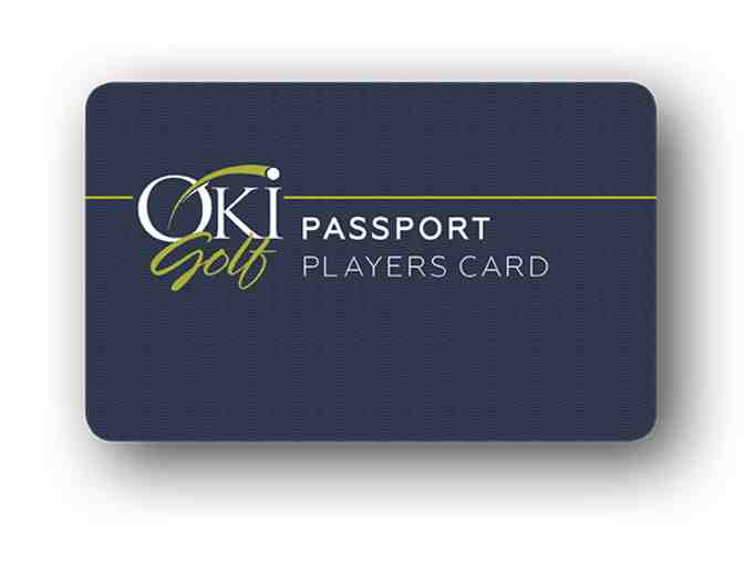 2019 Oki Golf Passport Players Card