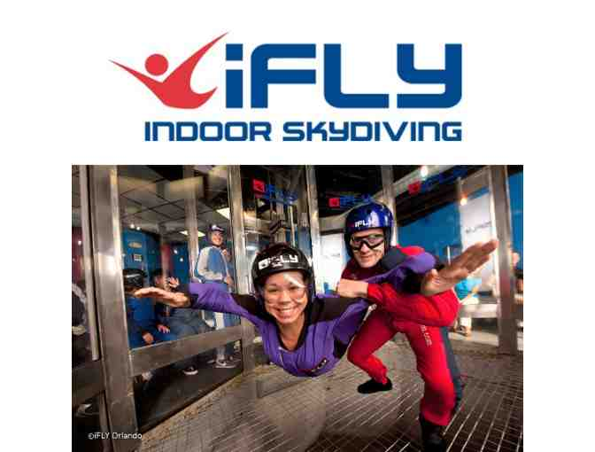 iFly Indoor Skydiving 12-person Flight Session - Photo 1