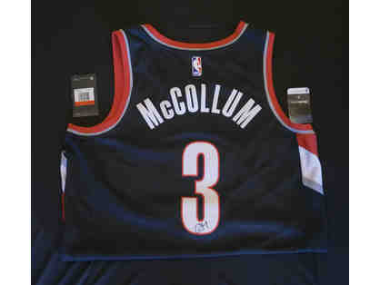 CJ McCollum SIGNED Jersey & Two (2) tickets to a 2019-20 Trail Blazers Home Game