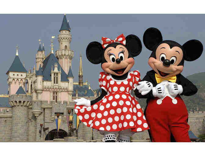 4 Disney World One-Day Park Hopper Tickets
