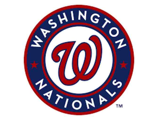 2 Washington Nationals Infield Box Tickets