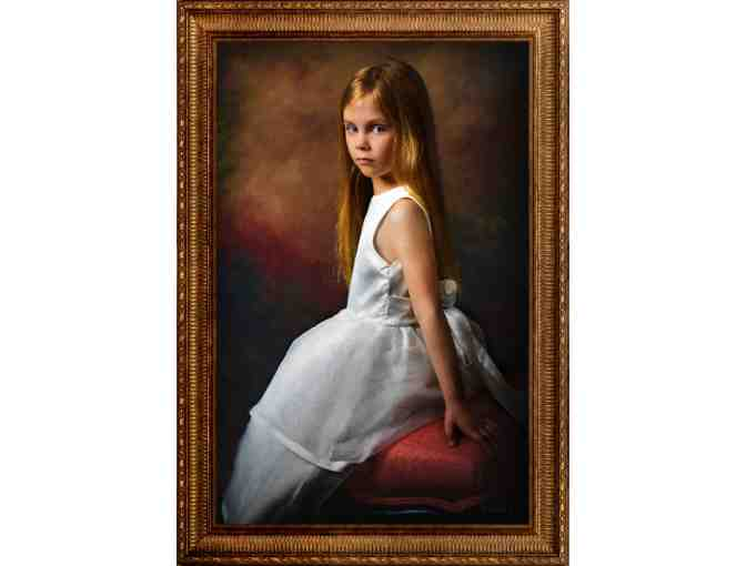 Children's Masterpiece Portrait at Hotel Elysee