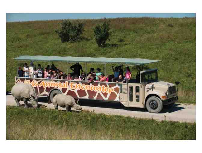 Feeding Giraffes & More with VIP Experience at the Columbus Zoo & Stay at Cloverleaf