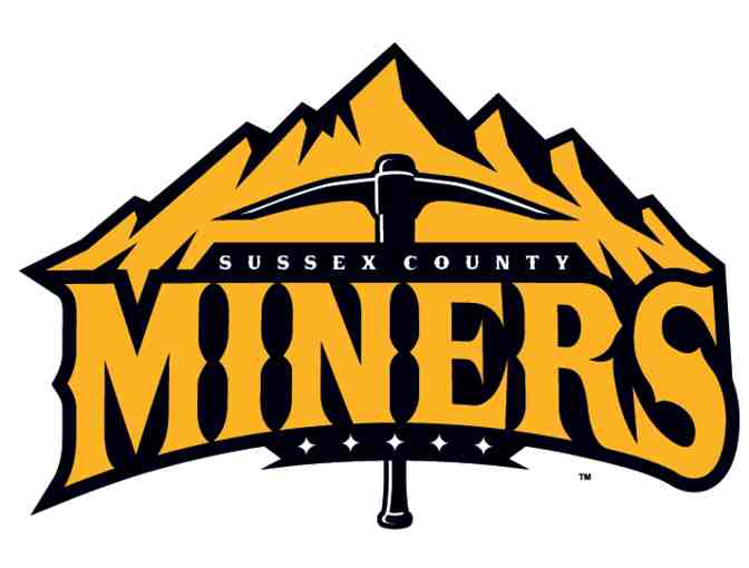 Sussex County Miners, Augusta, NJ - Two Tickets to a 2018 Baseball Game