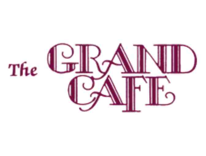 The Grand Cafe $25 Gift Certificate