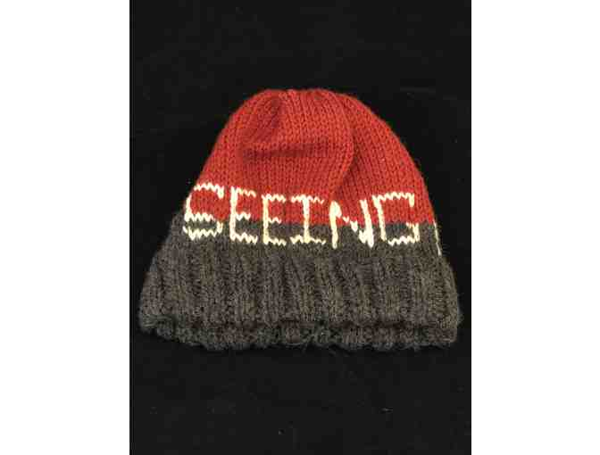 Merino Wool 'The Seeing Eye' Hat