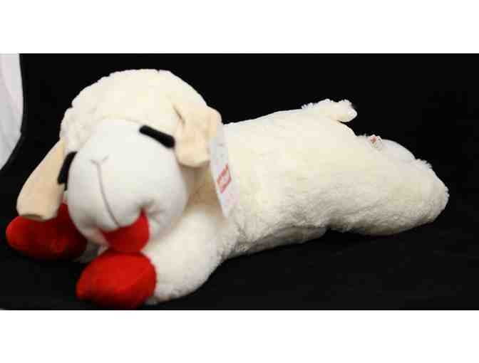 Lamb Chop Stuffed Animal Dog Toy