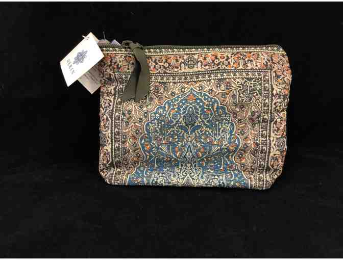 Derin Tapestry Woven Pouch