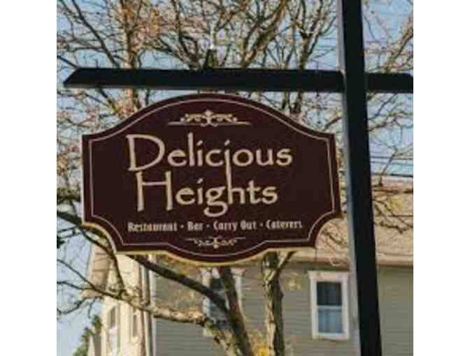 Delicious Heights, All Locations - $50 Gift Card