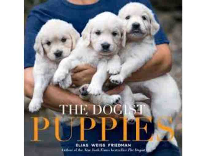 Autographed copy of The Dogist Puppies by Elias Weiss Friedman (1 of 2)