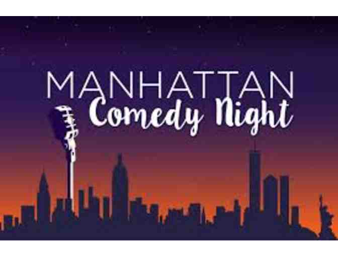 MPAC, Morristown, NJ - 4 Tickets to Manhattan Comedy Night, Friday, June 8