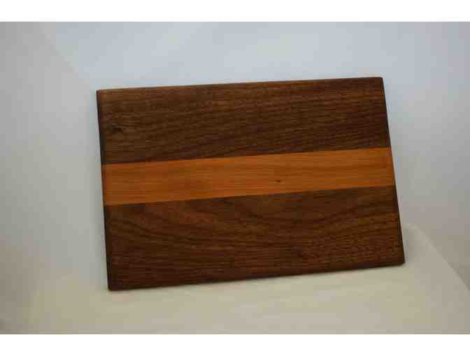 Handmade Walnut & Cherry Serving Board